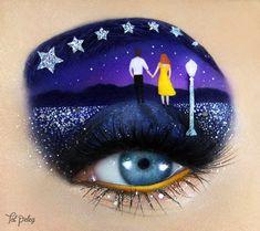 Tal Peleg - eye makeup - eye shadow - makeup - artist - La La Land