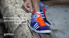 We are solving a tying problem and making it fashionable. It is useful for all generations, even for those with disabilities. #lace, #shoe
