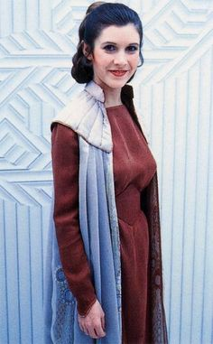 The red costume Leia wears on Cloud City shows a dramatic change from the…