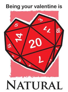 This Valentine's Day card. | 19 Things Only RPG Nerds Will Find Funny