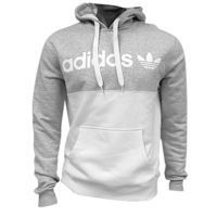 adidas Originals 50/50 Pullover Hoodie - Men's - White / Grey