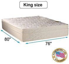 Buy Dream Sleep Beverly Hills King Firm Foam Encased Eurotop Mattress Only - Sleep System Enhanced Support, Fully Assembled, Knit Cover, Orthopedic Dream Solutions USA online - Favortrendyfashion - Joshua Wood Full Mattress, Pillow Top Mattress, Queen Mattress, Mattress Covers, Mattress Protector, Mattress Manufacturers, Online Shopping Usa, Memory Foam Mattress Topper