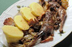 NAŠE KUCHYNĚ: Pečený bažant na divoko Pot Roast, Ham, Menu, Ethnic Recipes, Essen, Carne Asada, Menu Board Design, Roast Beef, Hams