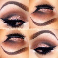 Holiday Party Eyeshadow Inspiration  Instagram.com/makeupbybrittanym