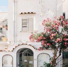 shot of Positano, Italy by Tekwani on Instagram