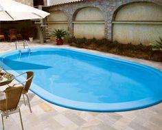 quintal com piscina de fibra - Pesquisa Google