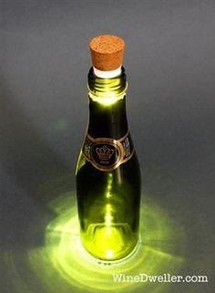 Rechargeable Wine Bottle Light