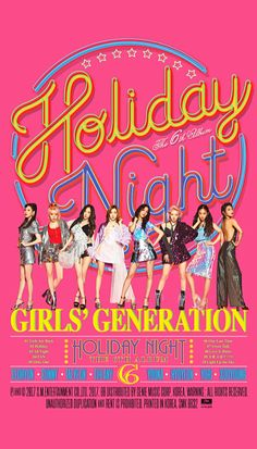 GIRLS GENERATION The 6th ALBUM 'Holiday Night' Teaser image SNSD #GIRLS6ENERAT10N #HolidayNight