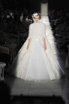 Chanel Couture Fall 2012. http://savoirflair.com/runway/paris-fashion-week-coverage-chanel-fall-2012-couture