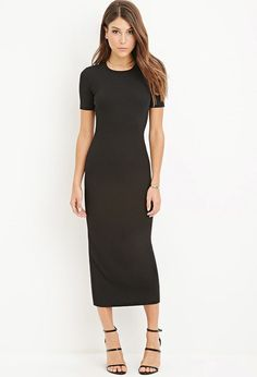 Ribbed Maxi Dress | Forever 21 - 2000162049
