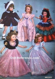 Wards 1942 Effanbee Anne Shirley Little Lady Doll clothes, page 79