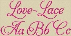 Hey, I found this really awesome Etsy listing at https://www.etsy.com/listing/59969383/love-lace-machine-embroidery-font-in-3