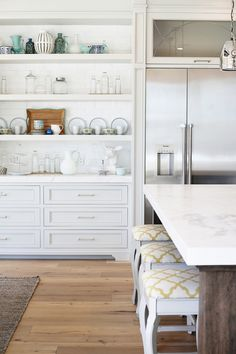 Four Chairs Furniture | Styled Built In Cabinets | Kitchen