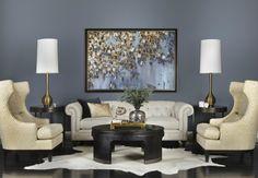 gray white blue black living room