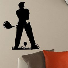 Wall Decal Vinyl Sticker Gym Sport Golf Player Decor Sb196 ElegantWallDecals http://www.amazon.com/dp/B011L7N82M/ref=cm_sw_r_pi_dp_KXiYvb09VEP6C