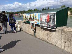 Street paintings - Paris