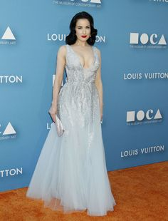 Dita Von Teese at 2015 MOCA Gala presented by Louis Vuitton at The Geffen Contemporary - May 30 — Celebrity Hive