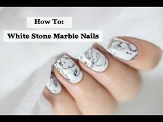 Marine Loves Polish: DanceLegend Peel Off Formula Black Marble Nails, Light Pink Acrylic Nails, Water Marble Nails, Marble Nail Art, White Nails, How To Marble Nails, Marble Nail Designs, Diy Nail Designs, Marine Nails