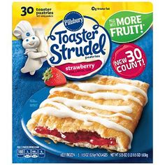 Pillsbury Toaster Strudel, Strawberry (57.5 oz., 30 ct.) $7.28
