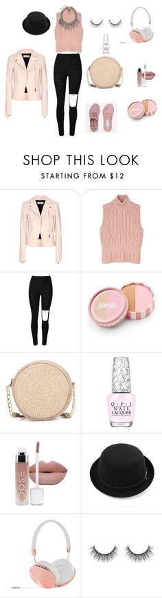 """Soft pink spring"" by kacenka-sipkova on Polyvore featuring Balenciaga, Diesel Black Gold, jane, Neiman Marcus, OPI, Frends, women's clothing, women, female and woman"