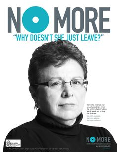 """No More """"Why Doesn't She Just Leave?"""" 