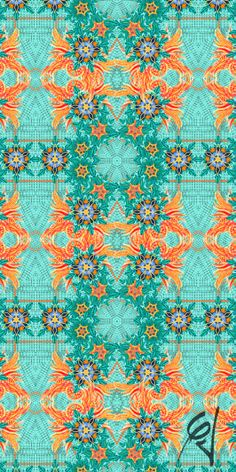 'Floral Tropical' Print designed by me and my father (Caito Junqueira) for MOS Beachwear by CJunqueira Surface Pattern Design --- Estampa 'Floral Tropical' criada por mim e meu pai (Caito Junqueira) para a marca MOS Beachwear pela CJunqueira Estampas // Contact: cjestampas@gmail.com