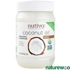 Product Info:Coconut oil is cholesterol-free and contains medium-chain good fats with Lauric Acid-a healthy nutrient that supports the metabolism. No raw certified organic extra-virgin coconut oil. Good Fats, Organic Oil, Superfoods, Deodorant, Favorite Recipes, Healthy, Products