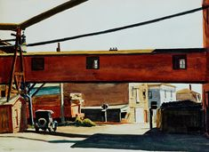 Edward Hopper - Box Factory (1928)