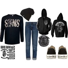 """""""sons of anarchy winter"""" by jolielackey on Polyvore"""