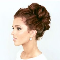 Twist & Tuck Ponytail for a quick touch of elegance!