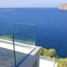 Safeguard Frameless Glass Railing for Balcony | Yelp