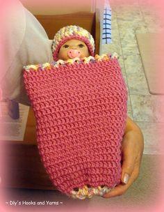 so precious' preemie baby cocoon ~ free pattern