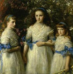 Sisters - John Everett Millais 1868