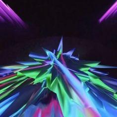 Open Geometry. Aus der Serie Metamathematik. 2013 - 2017  Rotierendes Raumobjekt aus Draht, Leuchtfarbe und Leuchtwolle  Skulptur, Objekt, Video, Installation, Fotografie  Markus Wintersberger 2013 - 2017  #opengeometry #metamathematic #draht #skulptur #analogdigital #schwarzlicht #raumcollage #schwingung #architektur #raumzeichnung #markuswintersberger #ricohtheta #austriatoday #glitché