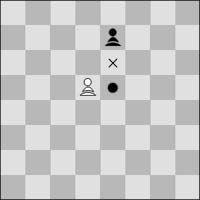 captura al paso del peón de ajedrez