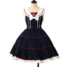 http://www.wunderwelt.jp/products/detail7578.html ♥ Angelic pretty ♥ vintage school jumper skirt Overseas shipping possibility!