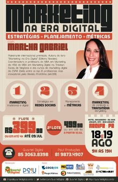 Curso Marketing na Era Digital com Martha Gabriel em Recife