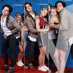 I could've sworn Cole had Lili dress on Bughead Riverdale, Riverdale Archie, Riverdale Funny, Riverdale Memes, Betty Cooper, Archie Comics, Riverdale Betty And Jughead, Zack Y Cody, Cole Sprouse Wallpaper