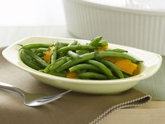 Rachael Ray's Orange-Scented Green Beans