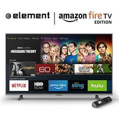 Element Ultra HD Smart LED TV Fire TV Edition -- Check this awesome product by going to the link at the image. (This is an affiliate link) Amazon Fire Stick, Amazon Fire Tv, Netflix, Amazon Gadgets, Latest Gadgets, Tech Gadgets, Empire, Android