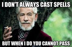 "The Best of Gandalf's ""You Shall Not Pass"" Memes (14 Pics)"