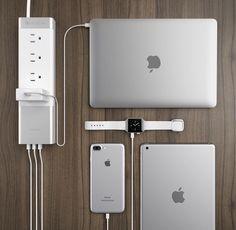 MacBook Pro, Apple Watch, iPhone 7 plus, iPad Air