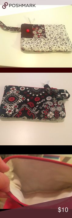 Handmade wristlet. Buy one listing get one free. Handmade, never used abc machine washable. Bags Clutches & Wristlets