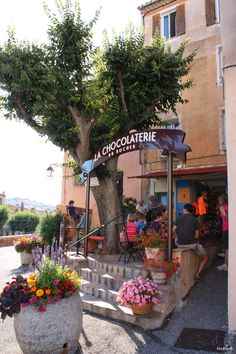 La chocolaterie de Roquebrune-sur Argens. Un pur moment de bonheur