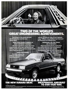 early '80's Subaru Brat