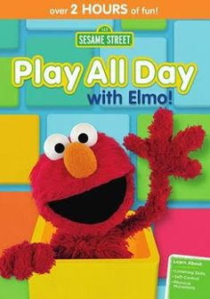 Always Blabbing: Play all Day with ELMO DVD ~~ Giveaway