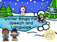 Winter Bingo for Spe