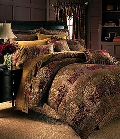 Croscill Galleria Red Bedding Collection #Dillards    This is  the one I bought but not sure now!!
