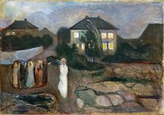 Edvard Munch - The storm [1893]