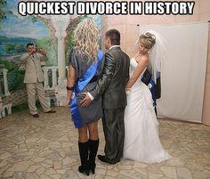 Solicitud de divorcio en 4... 3... 2... 1...